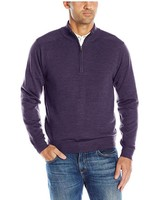 Cutter & Buck Cutter & Buck Men's Big and Tall Long Sleeve Douglas Half-Zip Mock