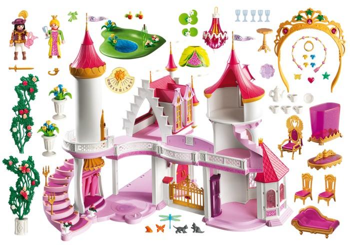 Little pickles playmobil princess fantasy castle for Notice de montage chateau princesse playmobil