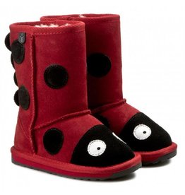 Emu Emu Ladybird Kid's Boot