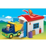 Playmobil 1.2.3 Playmobil 1.2.3. Truck with Garage