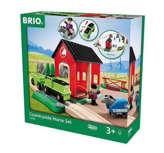 Brio BRIO Countryside Horse Set