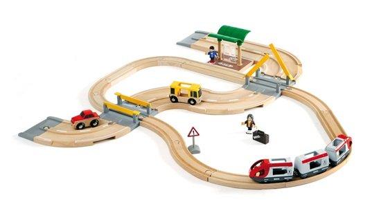 Brio BRIO Rail & Road Travel Set