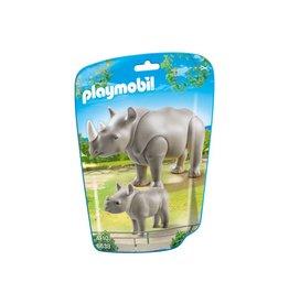Playmobil Playmobil Rhino with Baby