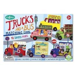 Eeboo eeBoo Trucks and a Bus Matching Game