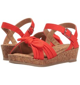 Hanna Andersson Cathrin Wedge - Tangy Red