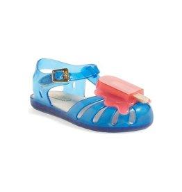 Mini Melissa Mini Melissa Aranha Fisherman Sandal Blue/Pink