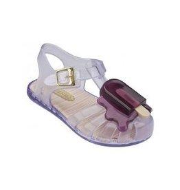 Mini Melissa Mini Melissa Aranha Fisherman Sandal Clear/Purple