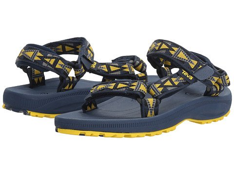 Teva Teva Kid's Hurricane 2 - Mosaic Navy/Yellow