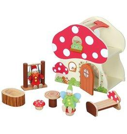 maxim Maxim Mushroom Cottage w/ Accessories