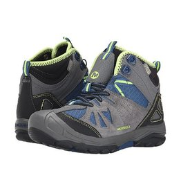 Merrell Merrell Youth Capra Mid Waterproof Hiking Boot