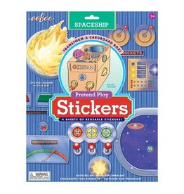 Eeboo Eeboo Pretend Play Spaceship Stickers