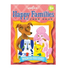 Eeboo Eeboo Happy Families Card Game