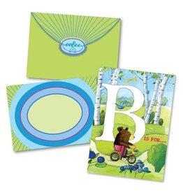 Eeboo B is for Birthday Card