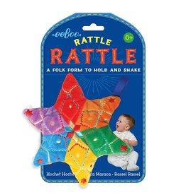 Eeboo Eeboo Star Rattle Rattle