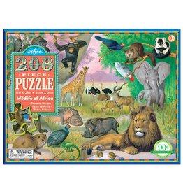 Eeboo Eeboo Wildlife of Africa 208pc Puzzle