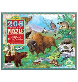 Eeboo Wildlife of North America 208pc Puzzle
