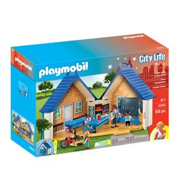 Playmobil Playmobil Take Along School House