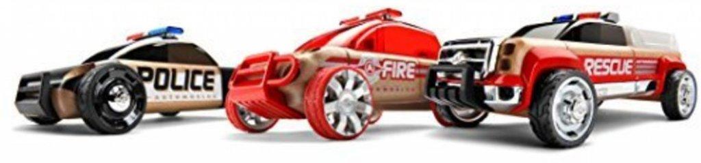 Automoblox Automoblox Mini S9 Police/X9 Fire SUV/T900 rescue - 3 Pack
