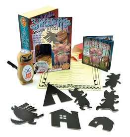 House of Marbles Three Little Pigs Shadow Puppets