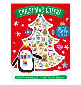 Make Believe Ideas Inc. Christmas Cheer Puffy Stickers & Activity Book