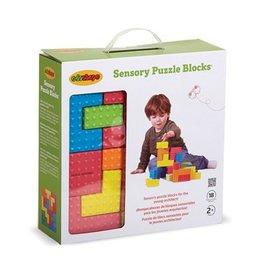 Edushape Edushape Sensory Puzzle Blocks