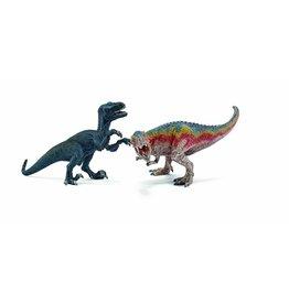 Schleich Schleich T-Rex and Velociraptor, small