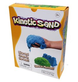 Relevant Play Kinetic Sand 5lb Box Blue/Green