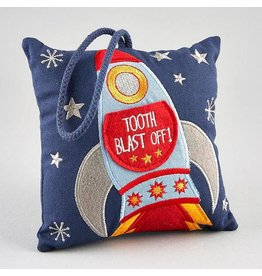 Floss & Rock Floss & Rock Tooth Fairy Cushion - Rocket