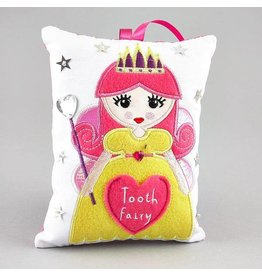 Floss & Rock Floss & Rock Tooth Fairy Cushion - Fairy