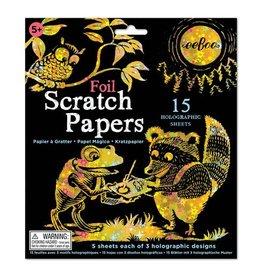 Eeboo eeBoo Foil Scratch Papers (3ED)