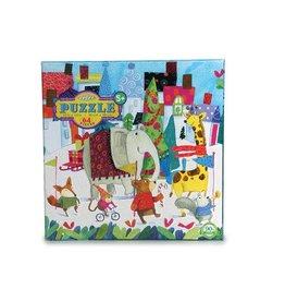 Eeboo eeBoo Holiday Parade 64 Piece Glitter Puzzle