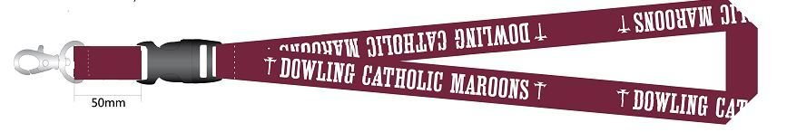 Accessories Dowling Catholic Lanyard