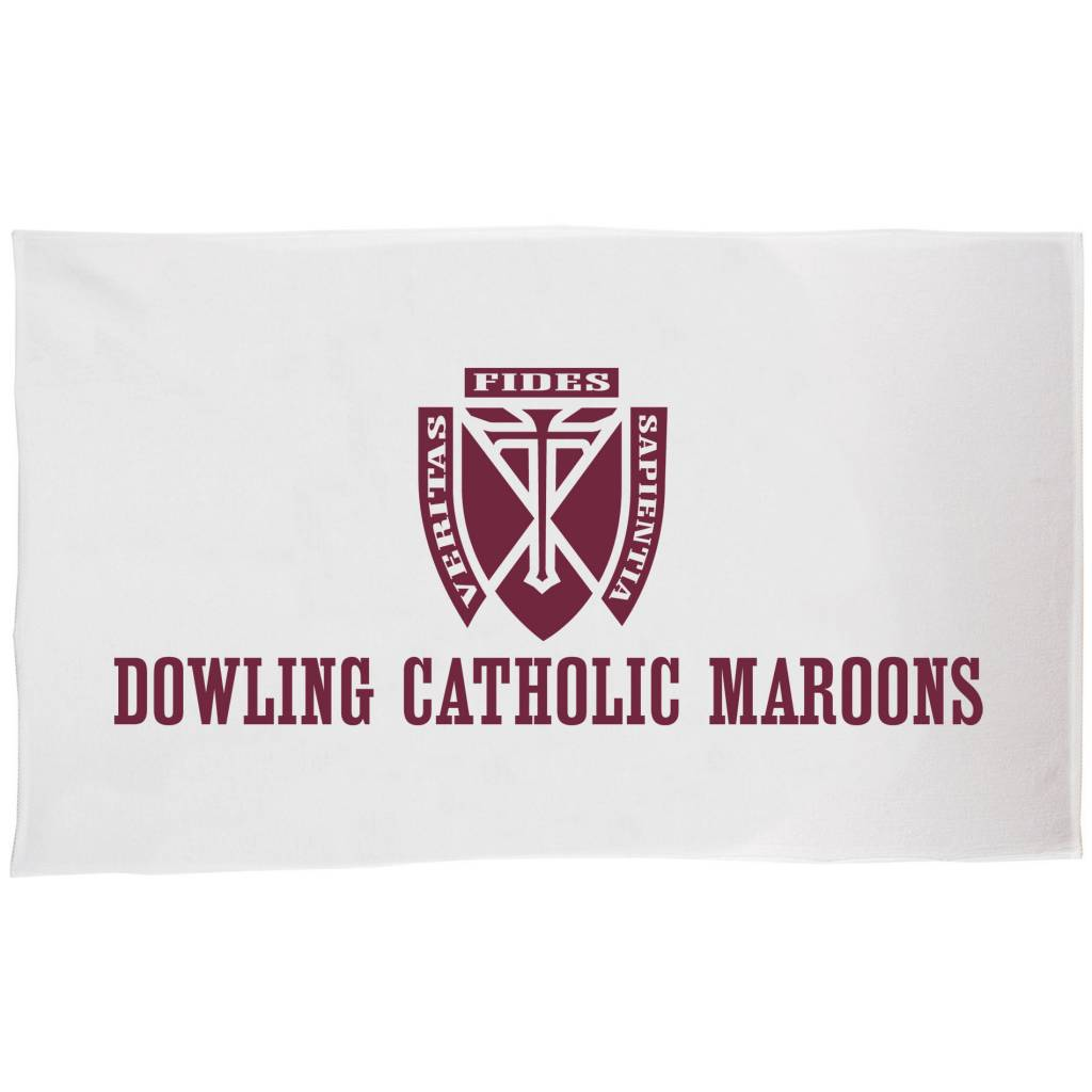 Dowling Catholic Beach Towel