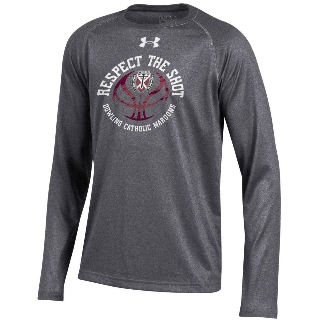 Under Armour UA Tech LS Tee YOUTH