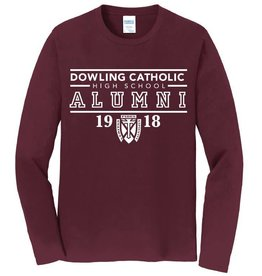Port Authority Alumni Long Sleeved Tee - SM - XL