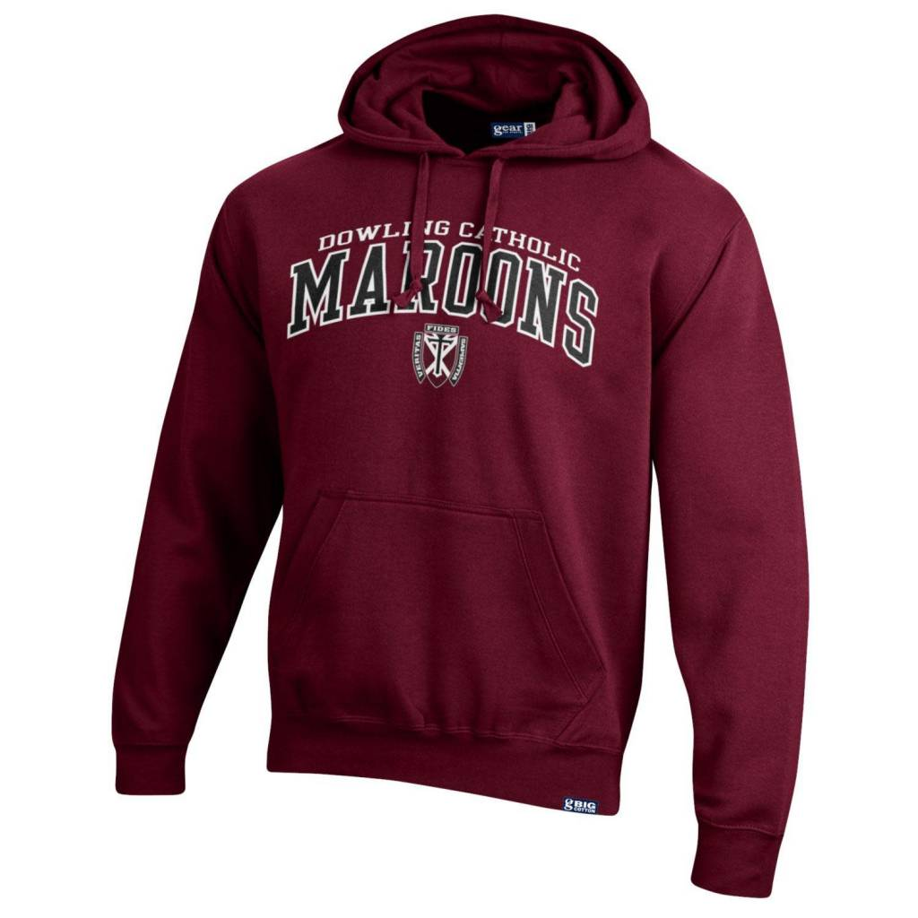 Gear Unisex Big Cotton Hood from Gear in Grey or Maroon