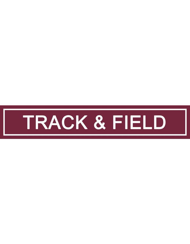 Accessories Spirit Sign Track & Field Rider