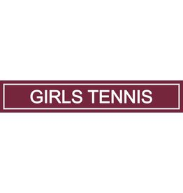 Spirit Signs Spirit Sign Girls Tennis Rider