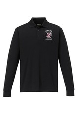 Core Men's Long Sleeve Performance Polo Extended Sizes - ONLINE