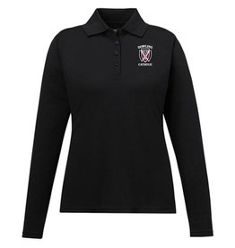 Core Women's Long Sleeve Performance Polo EXTENDED SIZES - ONLINE