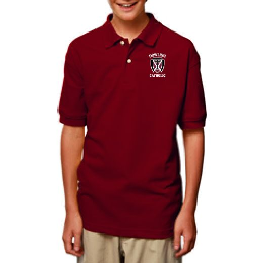 Youth Short Sleeve Cotton Polo - ONLINE
