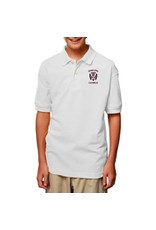 Blue Generation Youth Short Sleeve Cotton Polo - ONLINE