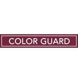 Accessories Spirit Sign Color Guard Rider