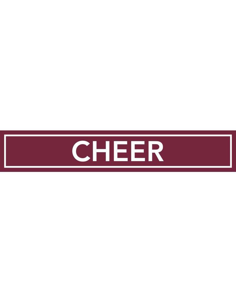 Spirit Signs Spirit Sign Cheer Rider