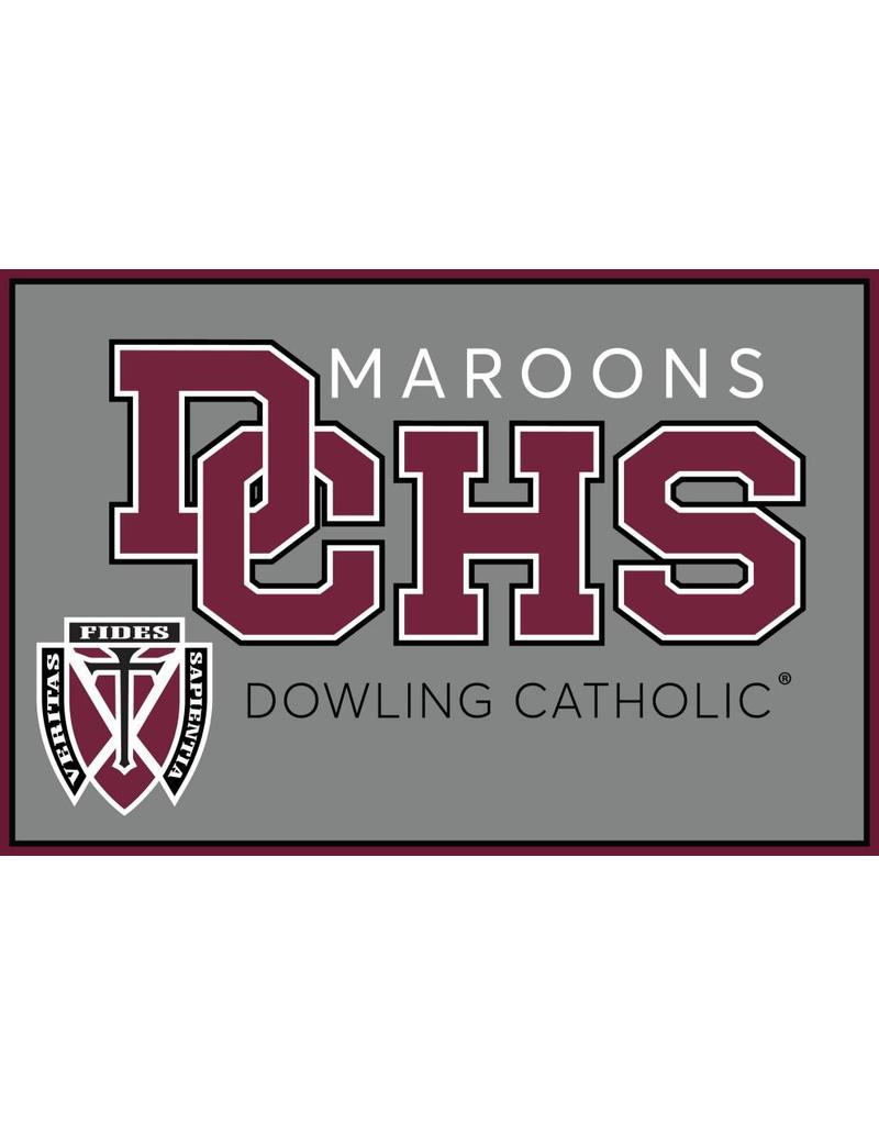 Accessories Dowling Catholic Car Decal General