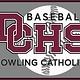 Dowling Catholic Car Decal Baseball