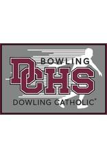 Accessories Dowling Catholic Car Decal Bowling