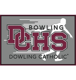 Accessories Dowling Catholic Car Decal Bowling