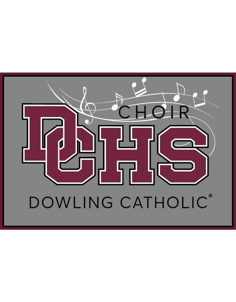 Accessories Dowling Catholic Car Decal Choir