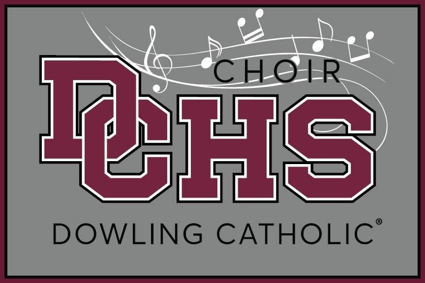 Dowling Catholic Car Decal Choir